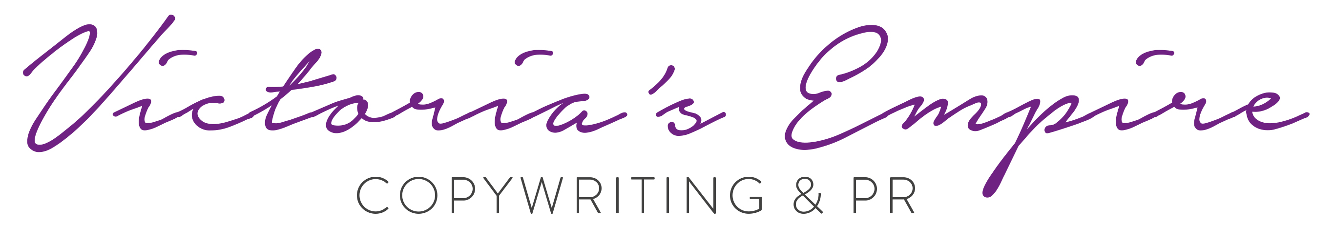 Victoria's Empire | Copywriting & PR